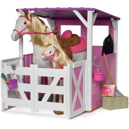 My Life As Two Stall Horse Stable 18 Quot Dolls Non Ag