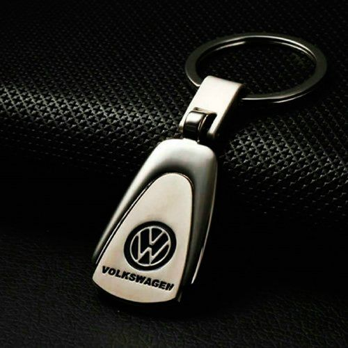 CHAMPLED® VW VOLKSWAGEN Emblem Keychain Keyring Logo symbol sign badge personalized custom logotipo Quality Metal Alloy Nice Gift for Man Woman