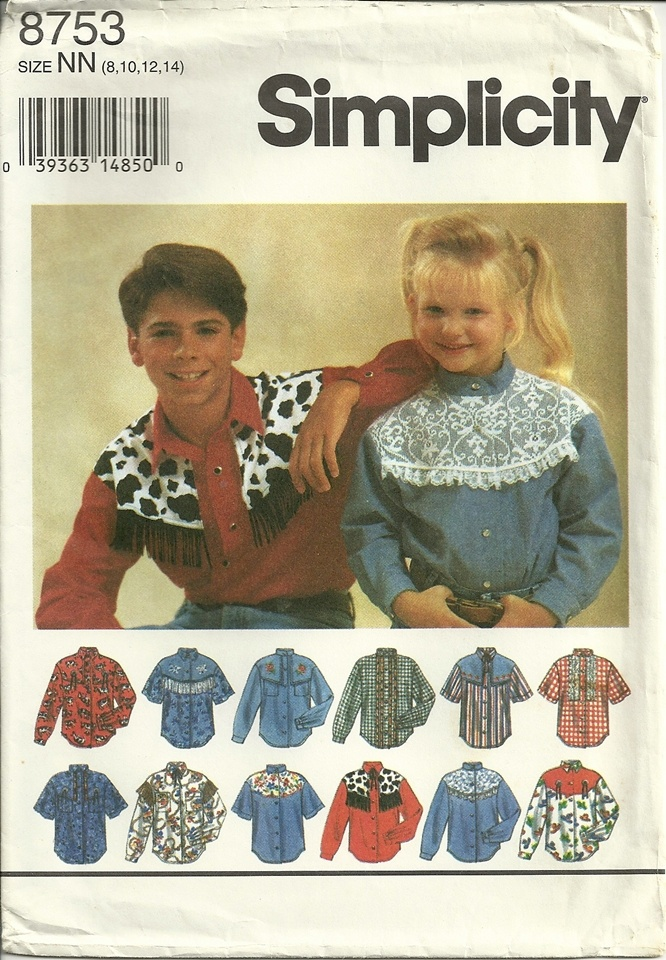 Western Shirt Sewing Pattern Image collections - origami ...