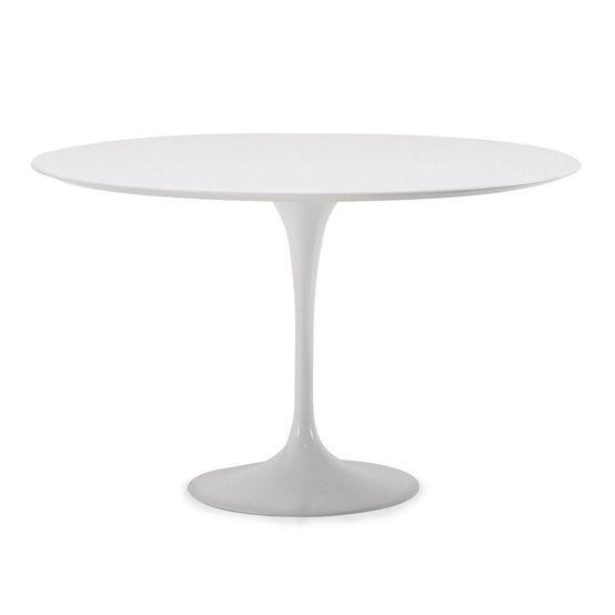Tulip Dining Table 120cm Fiberglass