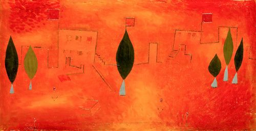Orient - East, 1927 by Paul Klee - art print from King & McGaw