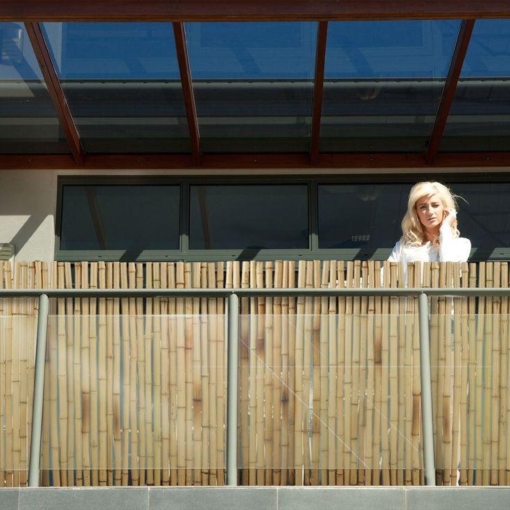 casa pura® Bambus Sichtschutz | Bambusmatte in Premiumqualität, massive Bambusrohre | naturbelassen | drei Größen (100x250cm, HxB): Amazon.de: Garten