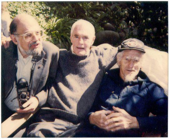Аллен Гинзберг, Тимоти Лири и Джон Лилли в 1991 году
