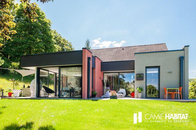 Extension de maison en Champagne Ardennes (08).  #extension #maison  http://www.camif-habitat.fr/projet-immobilier/travaux-extension-agrandissement-maison.php
