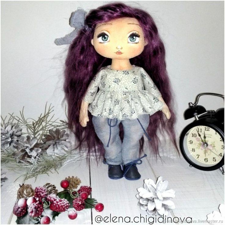 Купить Текстильная кукла в интернет магазине на Ярмарке Мастеров