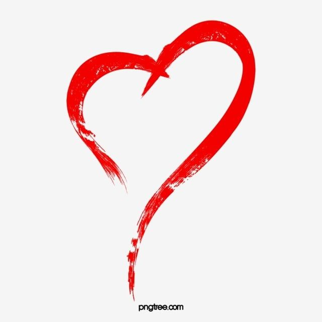 Red Heart Outline Heart Red Heart Love Heart Png Transparent Clipart Image And Psd File For Free Download Heart Outline Heart Hands Drawing Red Heart