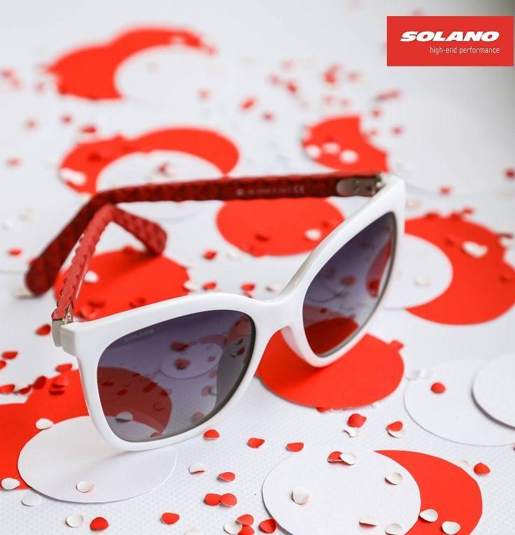#eyewear #sunglasses #red&white #sunnies