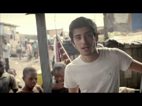 Zayn from One Direction meets a boy called Christopher   Red Nose Day 2013 made me cry....