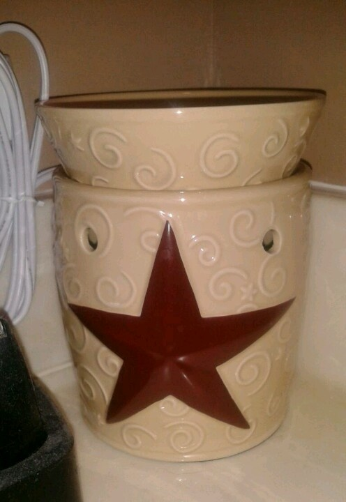 Rustic Star Scentsy Warmer Have This