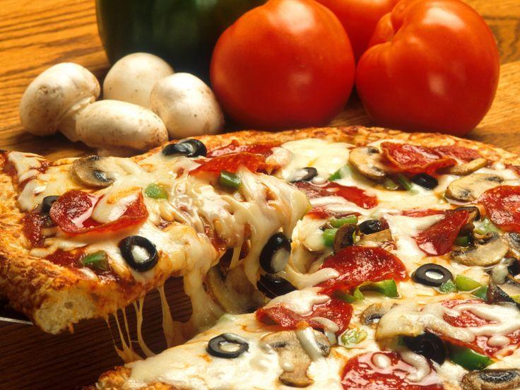 Пицца: 3 моментальных варианта теста и 7 лучших начинок nastol.com.ua-26121