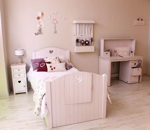 habitacion rosa helena de lucas 1 Helena de Lucas, Muebles Infantiles hechos a mano