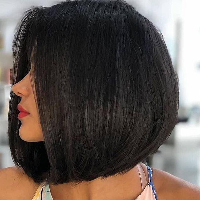 22+ Frisuren schwarze haare mittellang inspiration