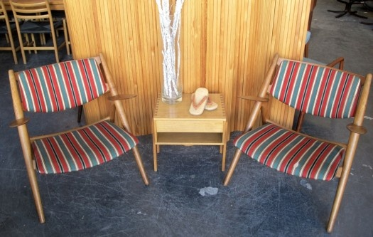 Pair Hans Wegner Sawback Chairs | 20th Century Scandinavia