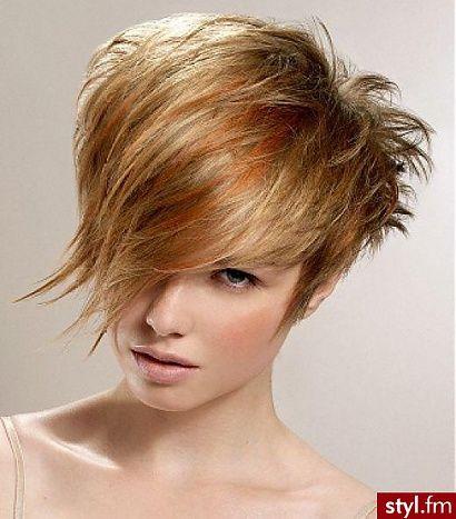fryzury z grzywką/krótkie-trend 2014