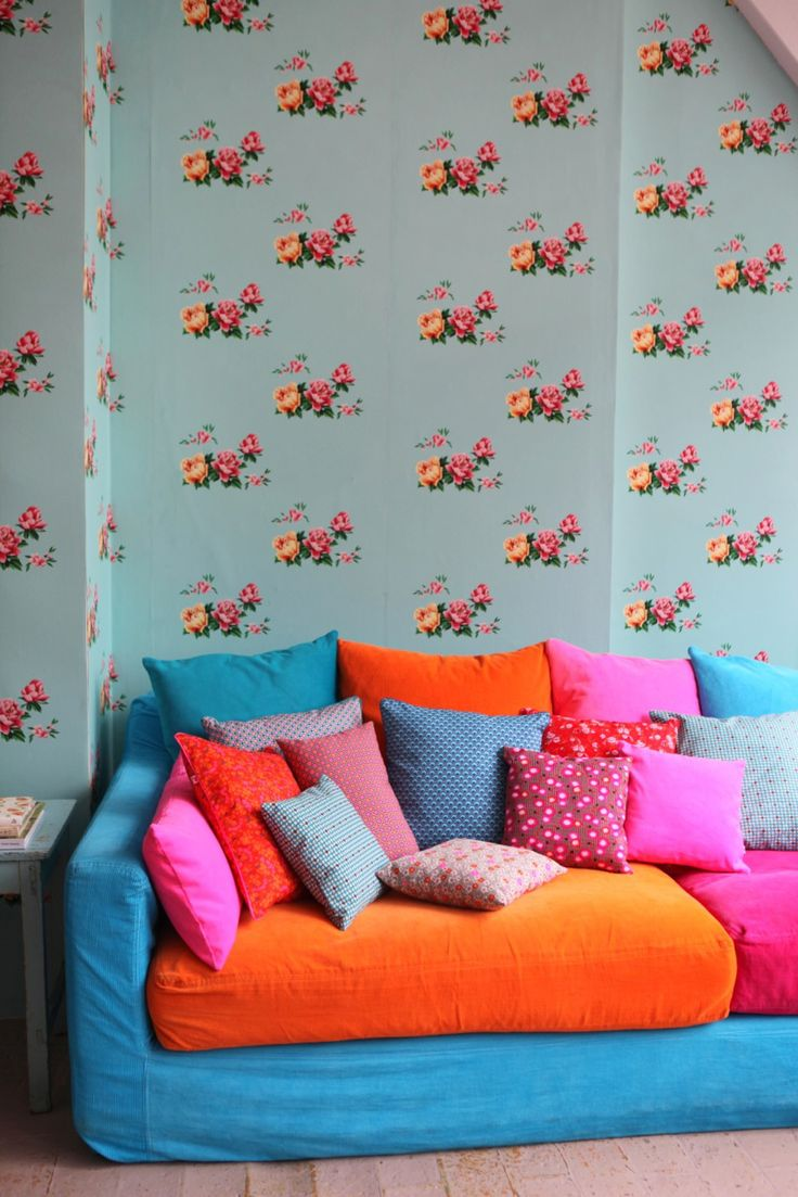 74 Best Wallpaper Images On Pinterest Wallpaper Fabric