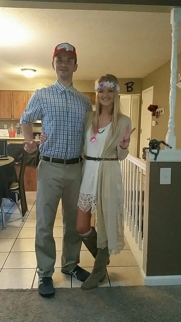 Forrest and Jenny from Forrest Gump.