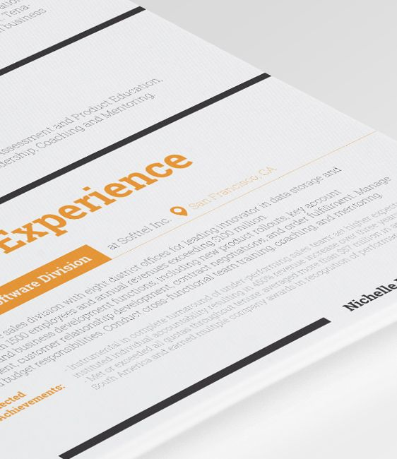 8 best Dorado - Resume Template images on Pinterest Career - how to make your own resume template