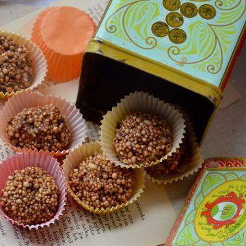 Quinoová bonboniéra - Potěšte své blízké zdravou alternativou k přeslazeným bonboniérám. Pukancová sladkost je báječný způsob jak to udělat.