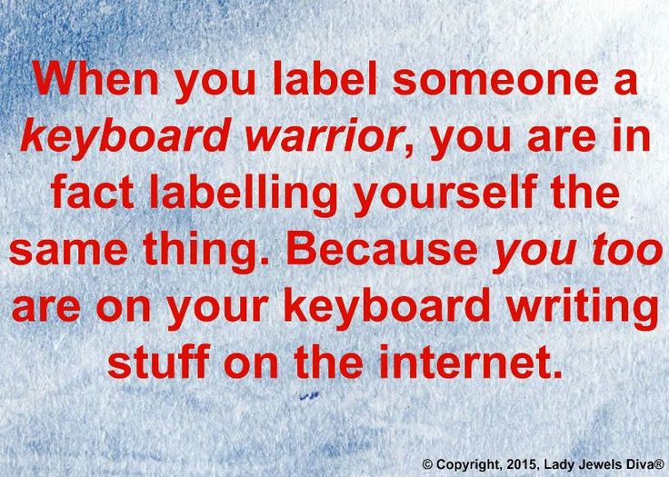The home of L.J. Diva: There's a keyboard warrior in all of us. http://www.jewelsdiva.com.au/2015/08/ljds-weekly-catch-up-theres-a-keyboard-warrior-in-all-of-us.html