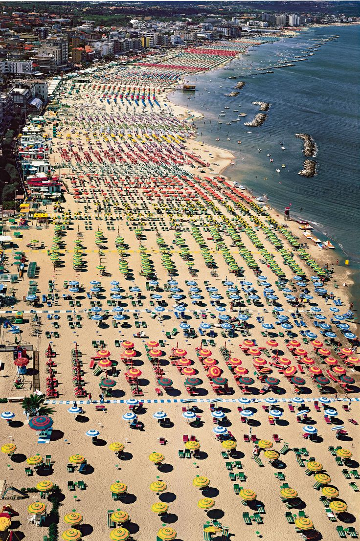 ANDREAS GURSKY | Rimini, 2003 | colour coupler print mounted on Plexiglas in artist's frame  Sold for £421,250 at the Contemporary Art Eveni...