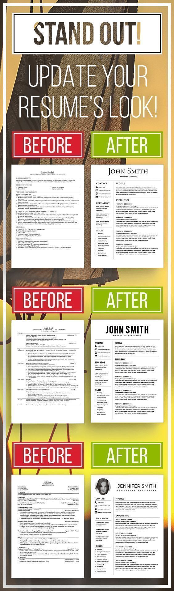 2519 best CV & Resume Design images on Pinterest | Best cv template ...