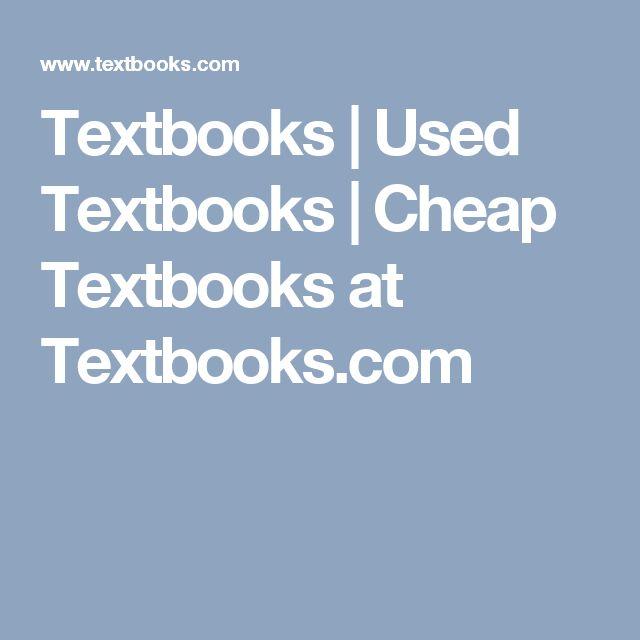 Textbooks | Used Textbooks | Cheap Textbooks at Textbooks.com