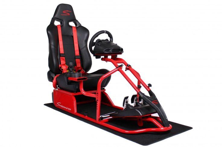 Speedmaster S Rot - Leder Optik Speedmaster Rennsitz, Playseat, Speedmaster, Racing Seat, Playstation, Xbox, PC, Windows, Wii Speedmaster Das ultimative Gamer Monocoque. Perfektes Design, maximale Stabilität, maximale Beinfreiheit,zu einem sehr attraktiven Preis.