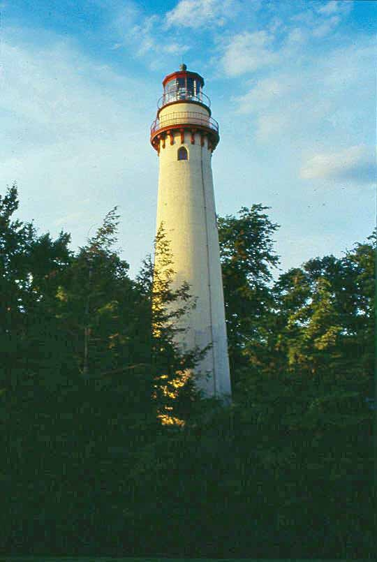 Grosse Point Light is located in Evanston, Illinois.Point Lighthouses, Lighthouses Beach