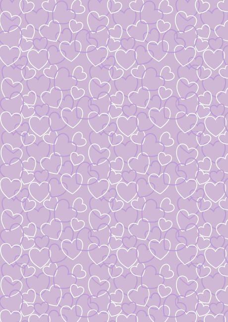 Purple confetti cones? Valentine's Day scrapbook paper purple heart background