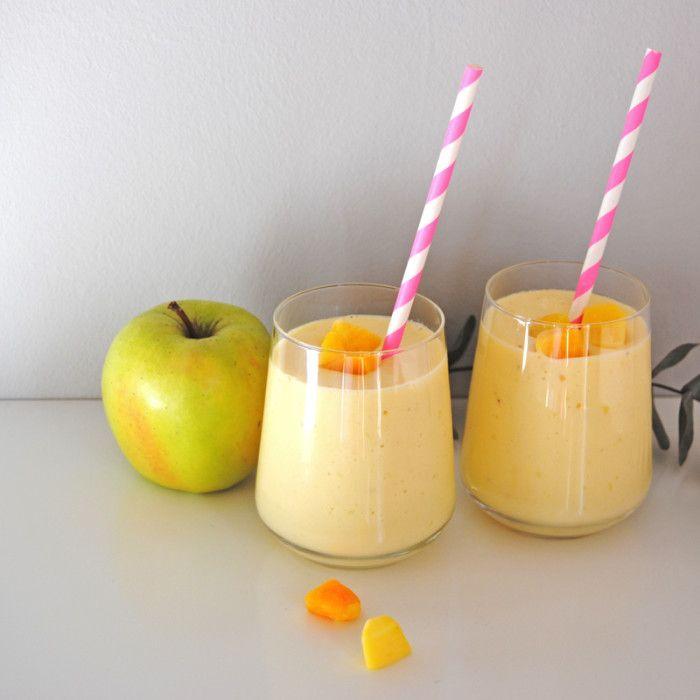 Ett underbart smoothierecept med mango, äpple och banan! En energiboost som förgyller vardagen.