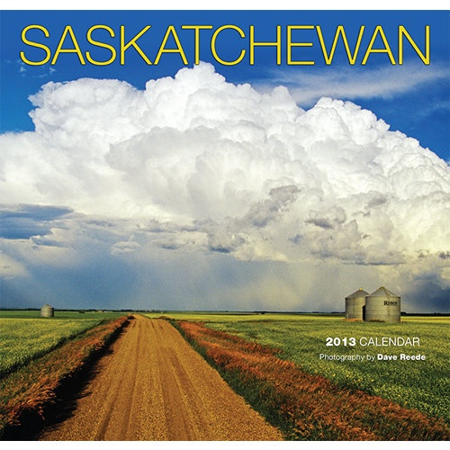 Saskatchewan Wall Calendar: Often referred to as the bread basket of Canada, Saskatchewan is so much more! In this calendar one can enjoy thirteen beautifully shot images of this lovely province throughout the seasons.
