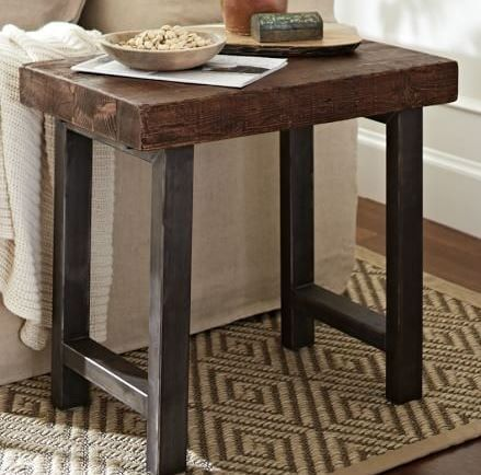 Pottery Barn Inspired End Table