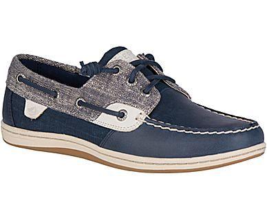 Women's Songfish Heavy Linen Boat Shoe - Boat Shoes | Sperry