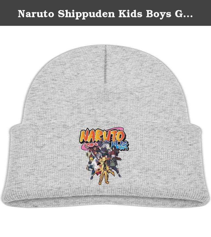 Naruto Shippuden Kids Boys Girls Knit Beanie Cap Skull Hat Ash By OSTWEAR. Naruto Shippuden Kids Youth Child Boys Girls Spring /Autumn/ Winter Knitted Beanie Cap Skull Hat One Size Fit Most By OSTWEAR.