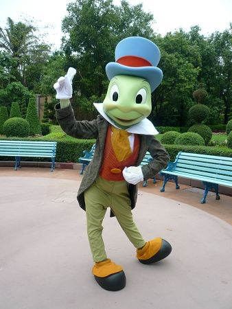 jiminy cricket - always let your conscience be your guide!