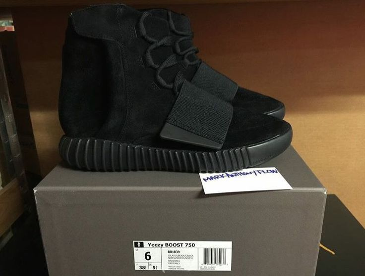 New Detailed Images Of The adidas Yeezy Boost 750 Black • KicksOnFire.com