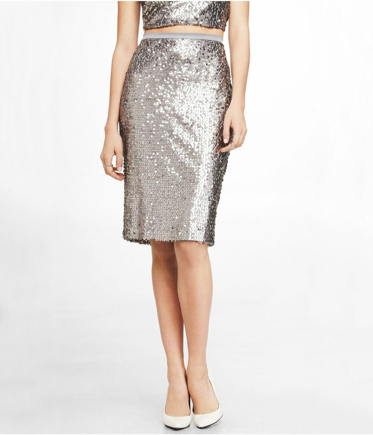 high waist sequined midi skirt express 29 99 style