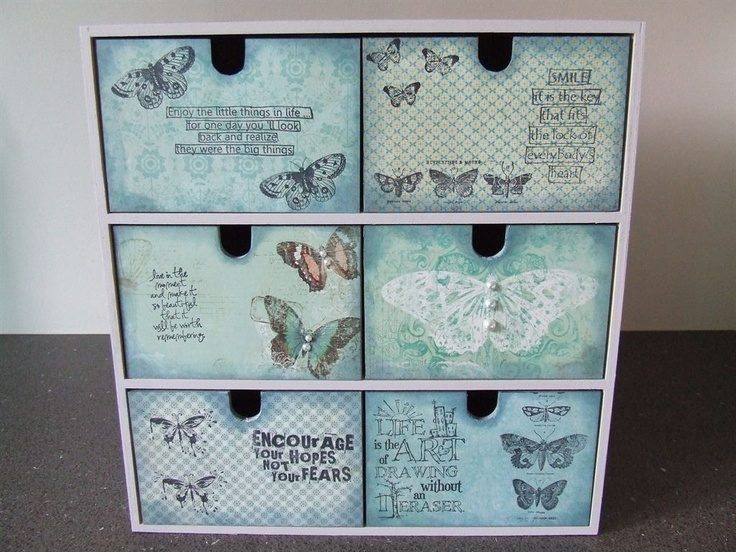 2nd altered storage box.... by: annette