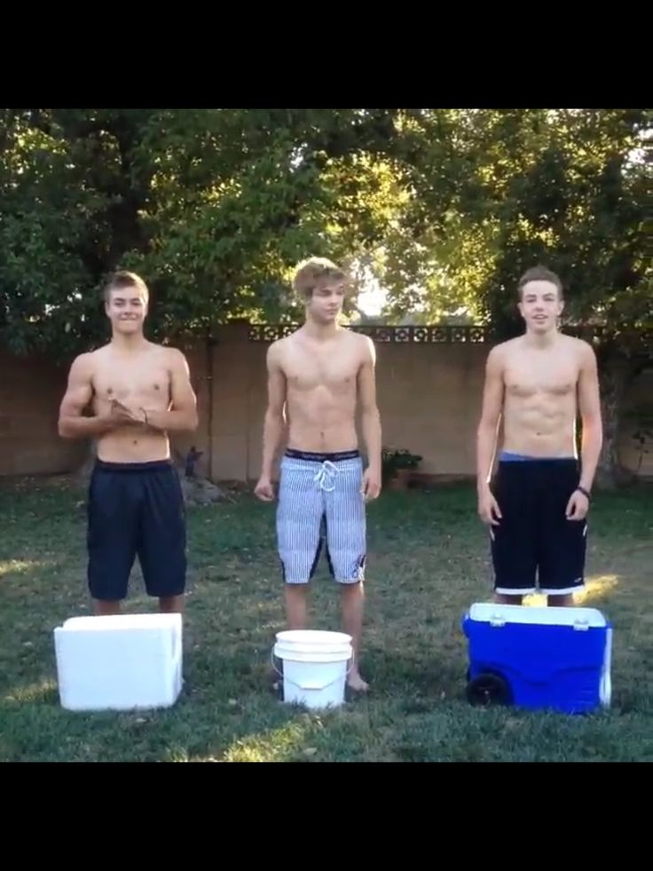 Peyton Meyer Took On The ALS Ice Bucket Challenge August