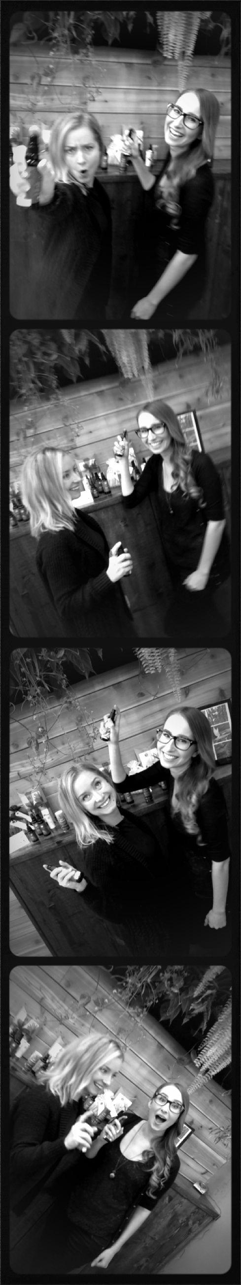 Brittany & Danielle...Lotus Wei fun.