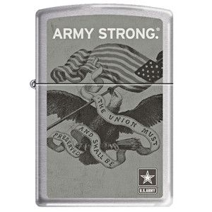 """Classic, authentic Zippo lighters representing the United States military, law enforcement, and fire fighters. Details: - Uses standard lighter fluid - Time-tested construction - Size: Apx. 1 1/2"""" x 2"""