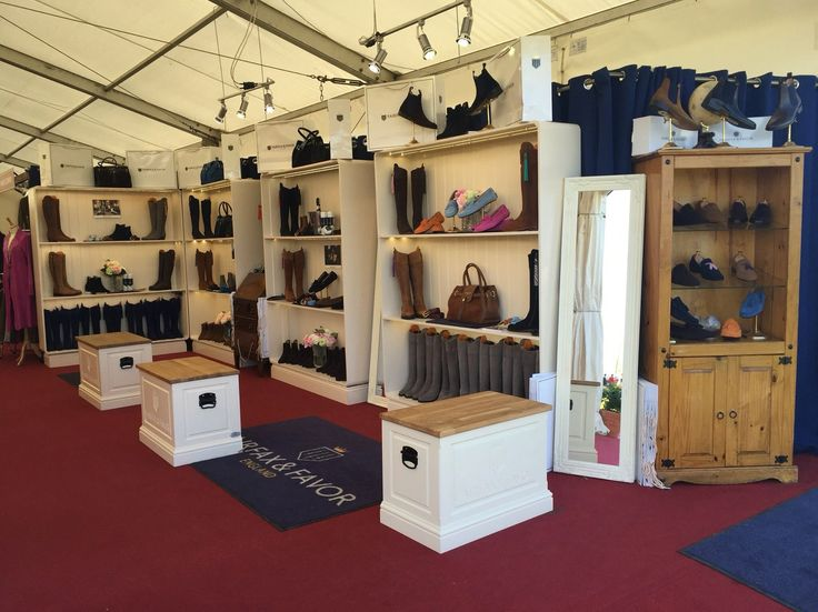 All ready for another fantastic day at Badminton Horse Trails! Come and see us in the Country Collection Tent.