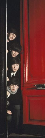 Beatles saw a red door and unlike the Stones they didn't 'Paint It Black'!