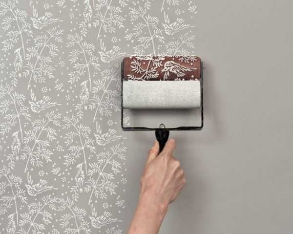 wallpaper | Creative Painting Ideas and Patterned Paint Rollers from The Painted