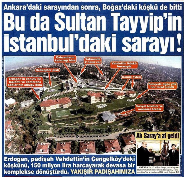 Sultan süleyman bile kara toprak oldu Sen bu kadar lüks içinde ölümsüzmüsün   .