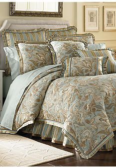 j queen new york valdosta aqua comforter set online only