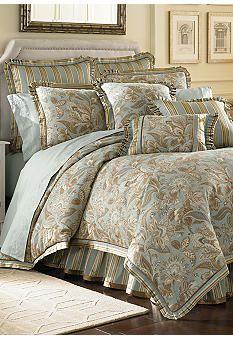 J Queen New York Valdosta Aqua Comforter Set - Online Only