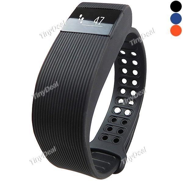 IDO ID105 Smart Bracelet Gesture Wake-up Mileage Calorie Sleep Monitor Call Reminder Pedometer Remote Camera Anti Lost E-506817