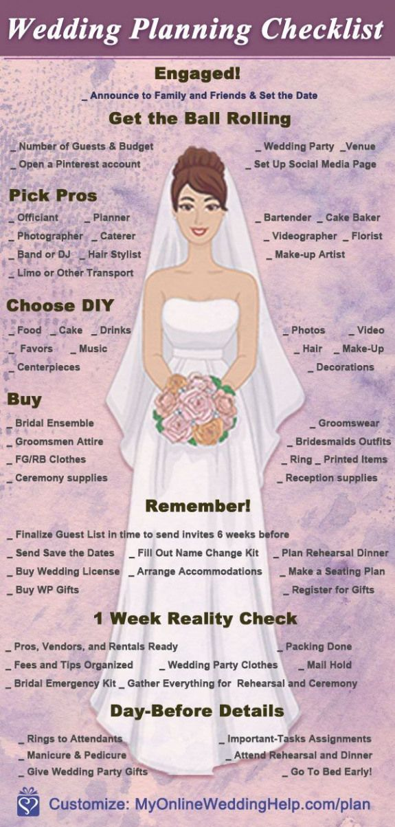 Wedding Planning Checklist Detailed Printable Cheat Sheet To Help You Plan Your Wedding Wedding Checklist Budget Wedding Planning Details Diy Wedding Planning