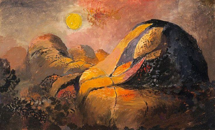 Western Hills 1938 by Graham Sutherland: